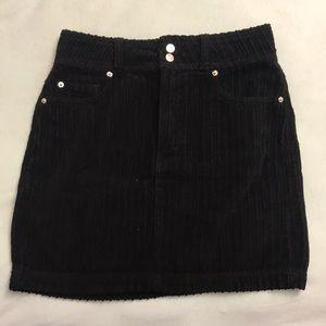 BDG Urban Outfitters Black Corduroy Skirt